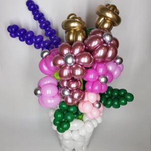 Balónkové kytice